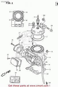 Suzuki Rm125 1999  X  Cylinder