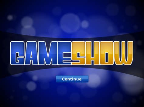 powerpoint game show powerpoint show templates free roncade info