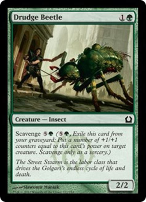 mtg insect tribal deck card search search scavenge exile gatherer magic