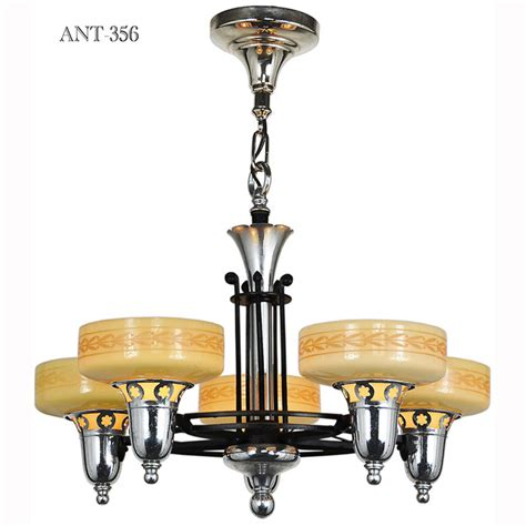 Late Streamline Art Deco Five Light Chandelier With. Case Design. Undermount Bathroom Sink. Monsey Glass. Gable Pediments. Chrome Wall Sconce. Acrylic Backsplash. Lowes Mt Dora. Mid Century Dining Chairs