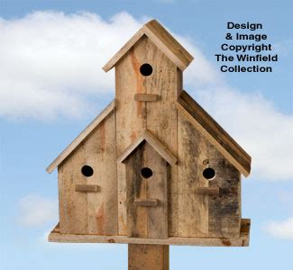 birdhouse wood patterns pallet wood birdhouse plans set