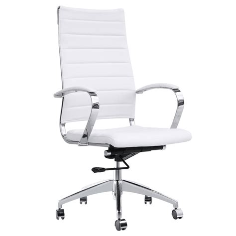 sd163 b leatherette upholstered swivel office chair city