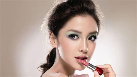 full hd wallpaper lipstick hairstyle femme fatale desktop