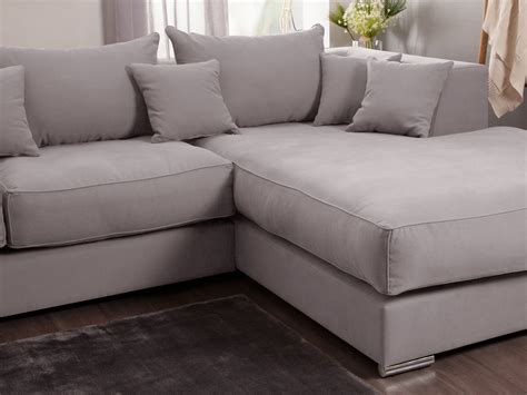 canape d angle avec grande meridienne canapé d 39 angle en coton et avec grande méridienne