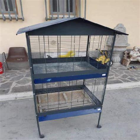 gabbia per pappagalli usata voliera usata animali settembre clasf