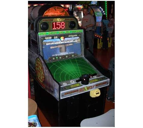 Sea Wolf Ticket Redemption Arcade Machine Game For Sale