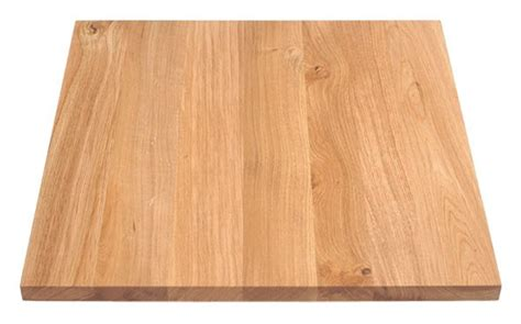 Oak table top transparant 3,0 thick
