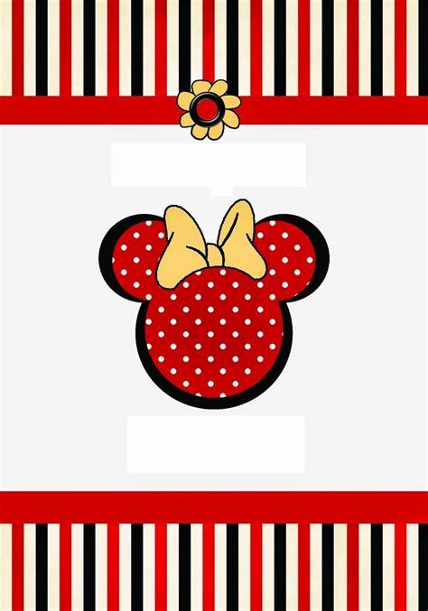 la cuisine de minnie divertidos imprimibles gratis de minnie mouse rojo