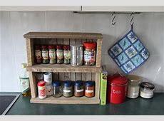 DIY Pallet Spice Racks for Kitchen Pallets Designs