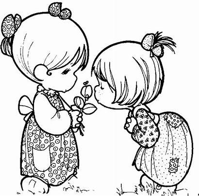 Smell Clipart Clip Coloring Pages Smelling Cartoon