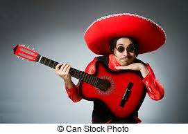 mexican guitar player stock   images