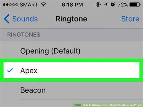 to change ringtone on iphone 5 how to change the default ringtone on iphone 4 steps