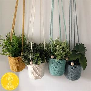 Suspension Pour Plante : tuto suspensions au crochet pour plantes fa on macram ~ Premium-room.com Idées de Décoration