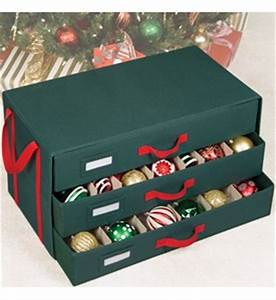Holiday Ornament Storage Box in Ornament Storage Boxes