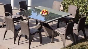 Chaise Exterieur Design : table jardin chaises mobilier exterieur pas cher reference maison ~ Teatrodelosmanantiales.com Idées de Décoration