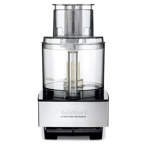 cuisinart home cuisine cuisinart brushed stainless and black series custom 14 cup