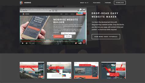 web page design software responsive mobile website builder software