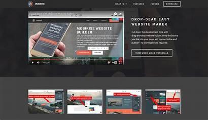 Website Builder Mobile Software Web Responsive Site