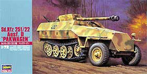 sd kfz 251 22 pak wagen hasegawa mt45