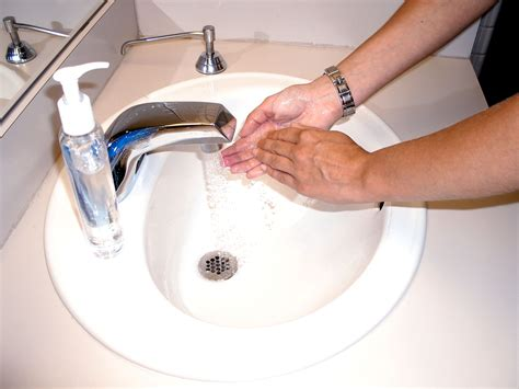 Free picture: washing, hands, soap, water, alcohol, scrub