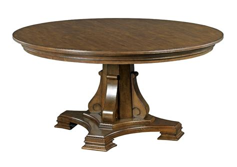 solid wood round dining table stellia 60 quot round solid wood dining table with carved wood
