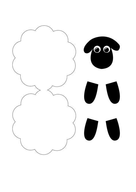 bücher falten vorlagen zum ausdrucken schaf aus papier mit kindern basteln bastelarbeiten schafe basteln basteln mit kindern und