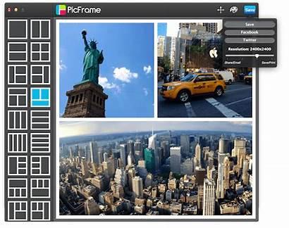 Maken Fotocollage Picframe Mac Collage Snel Eenvoudig