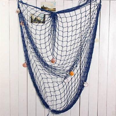 4.4 out of 5 stars 6,805. Aliexpress.com : Buy Fish Net Hanging Decorative Home Decor Nautical Fishing mesh Mediterranean ...
