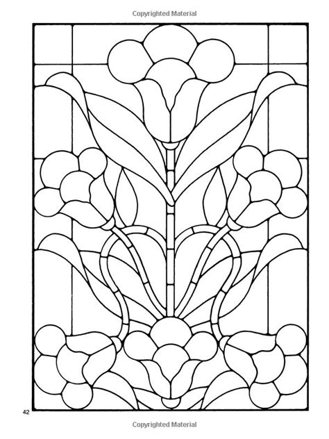 Floral Stained Glass Pattern Book 106 best stained glass patterns images on