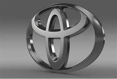 Toyota Desktop Wallpapers 3d Emblem Para Backgrounds