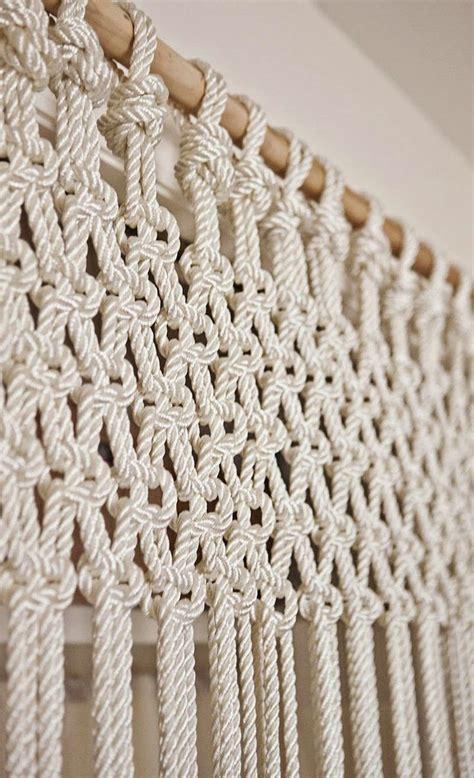 macrame rideau cuisine les 25 meilleures idées de la catégorie rideaux en crochet sur cuisine en crochet