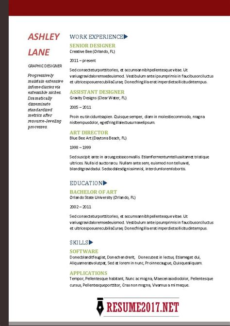 sle resume format for experienced candidates best