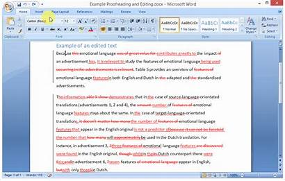 Changes Word 2007 Vertical Lines Side Accept