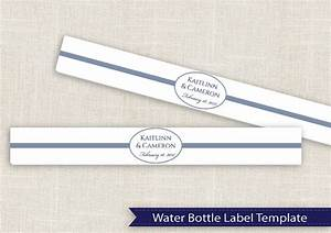 diy water bottle label template for averyr 22845 by With water bottle labels template avery