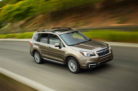 subaru forester 2017 subaru forester priced from 23 470 automobile magazine