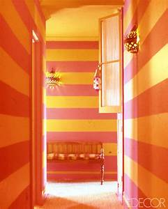 Color Combination Pink and Yellow-Orange