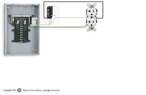 Need Use Double Pole Breaker For Gfci Plug