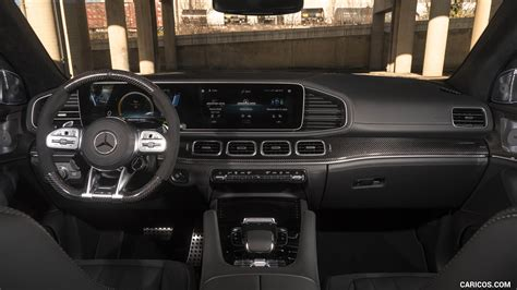 Boasts 19 highway mpg and 15 city mpg! 2021 Mercedes-AMG GLE 63 S Coupe (US-Spec) - Interior, Cockpit | HD Wallpaper #58 | 2560x1440
