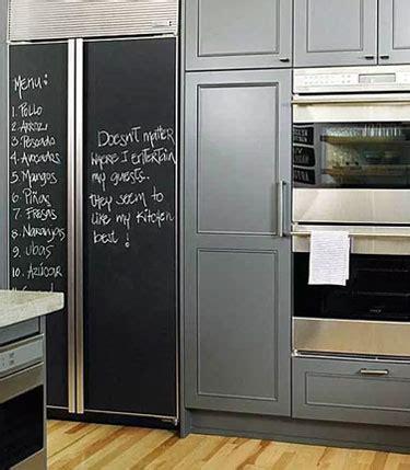 2017 wall paint how to a chalkboard fridge tips tricks ideas