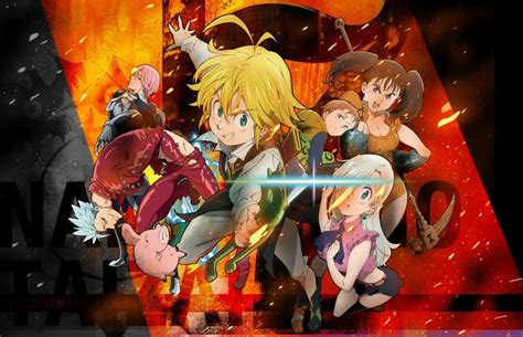 The Seven Deadly Sins Anime Wallpaper - the seven deadly sins wallpapers wallpaper cave
