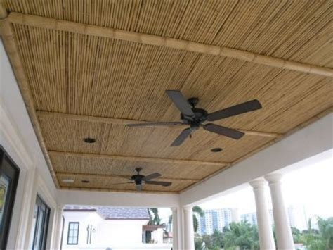bamboo porch ceiling bamboo