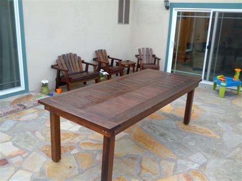 redwood outdoor furniture plans
