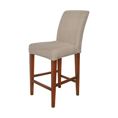 sterling couture covers bar stool cover in light brown