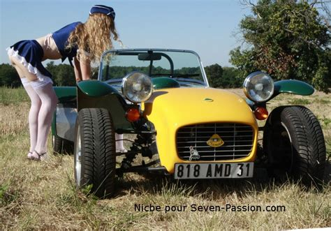 Lotus Super Seven receiving an inspection | Z-Car