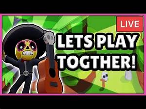 BRAWL STARS LIVE STREAM! - ROAD TO 700 SUBS! - PLAYING ...