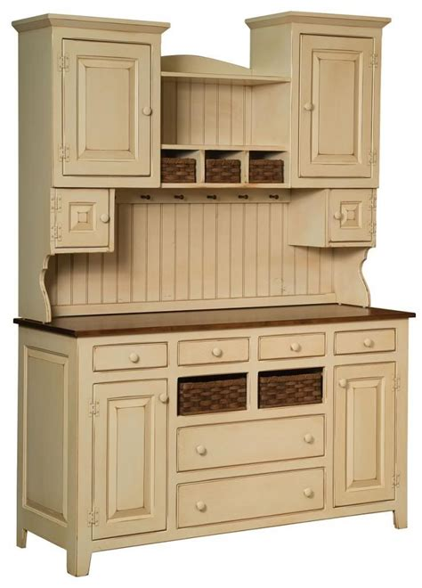 Details About Amish Sadies Hutch Primitive Kitchen Country