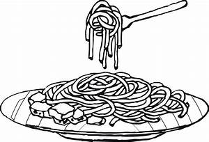 Pasta Drawing - ClipArt Best