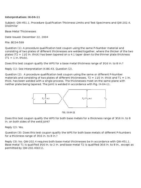 Dissimilar Base Metal Thickness | Soldadura | Procesos