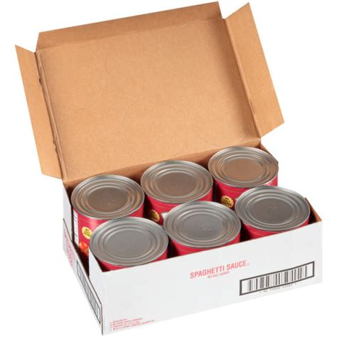 HEINZ No Salt Added Spaghetti Sauce, 104 oz. Can (Pack of ...
