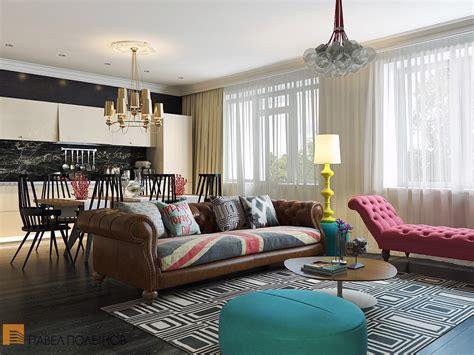 stylish home interiors bright and cheerful interior design by pavel polinov